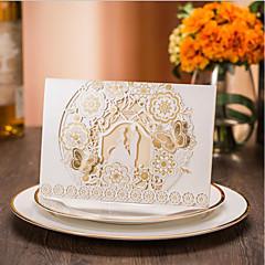 baratos Convites de Casamento-Embrulhado e de Bolso Convites de casamento 50pçs - Convites para Festas de Noivado Convites para Chá de Casada Convites para Chá de Bebê