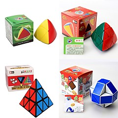 tanie Kostki Rubika-Kostka Rubika 4 szt Shengshou 7098A-3 7111A-1 7182A-1 7086A-1 Kosmita 2816 x 2112 3*3*3 Gładka Prędkość Cube Magiczne kostki Puzzle Cube Lśniący Błyszczący Zabawki biurkowe Dla dzieci Dla dorosłych