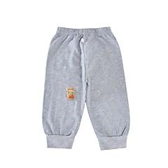 tanie Odzież dla dziewczynek-Brzdąc Unisex Prosty Sport Jendolity kolor Długi rękaw Bawełna Spodnie