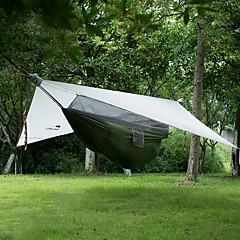 billige Telt og ly-Naturehike 1 person Hengekøye Beskyttelse & Presenning Dobbelt camping Tent Ett Rom Brette Telt Bærbar Sammenleggbar til Camping Utendørs
