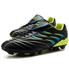billige Fotballsko-Unisex Fotballsko / Fotball klossene / fotball Boots TPU (termoplastisk polyuretan) Fotball Pusteevne, Mykhet PVC Lær Svart / Gul