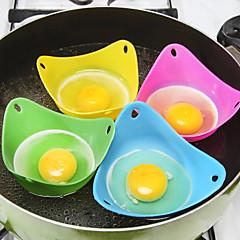 billige Bakeredskap-2pcs kjøkken Verktøy Silikon Miljøvennlig materiale Multifunksjonell Økovennlig Myk Eggeverktøy Iskremsverktøy Dessertverktøy Kake Pai for Egg