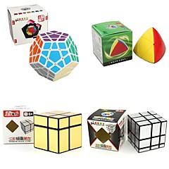 billiga Leksaker och spel-Rubiks kub 4 st Shengshou 7182A-1 7172A-2 7097A-1 7099A-4 Alien 3*3*3 2*2*2 Mjuk hastighetskub Magiska kuber Pusselkub Lena klistermärken