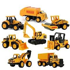 Χαμηλού Κόστους Toy Trucks & Τεχνικά Οχήματα-Mini Alloy engineering Car Φορτηγό Όχημα κατασκευών Παιχνίδια φορτηγά και κατασκευαστικά οχήματα Παιχνίδια αυτοκίνητα 1:64 8 pcs Παιδικά Αγορίστικα Κοριτσίστικα Παιχνίδια Δώρο
