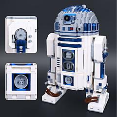 Χαμηλού Κόστους Building Blocks-R2-D2 Τουβλάκια 2127pcs Κλασσικό Θέμα / Ρομπότ Focus Παιχνίδι / Στρες και το άγχος Αρωγής Δώρο