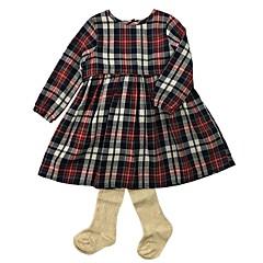billige Babytøj-Baby Pige Tøjsæt Daglig Stribet, Bomuld Forår Efterår Langærmet Simple Kineseri Beige
