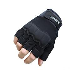 tanie Rękawiczki motocyklowe-Pół palca Męskie Rękawice motocyklowe Włókno Zdatny do noszenia Antypoślizgowy Oddychalność