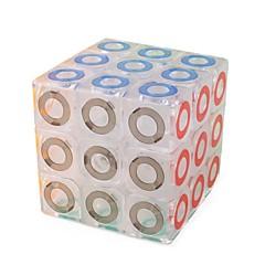 tanie Kostki Rubika-Kostka Rubika 1 szt MoYu D0916 Tęczowa kostka 3*3*3 Gładka Prędkość Cube Magiczne kostki Puzzle Cube Lśniący Moda Zabawki Unisex Dla chłopców Dla dziewczynek Prezent