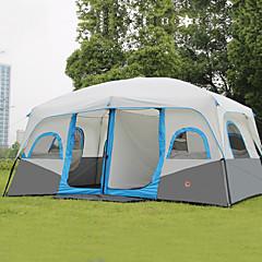 billige Telt og ly-Shamocamel® >8 personer Telt Dobbelt camping Tent To Rom Familietelt Hold Varm Vanntett Bærbar Regn-sikker Pustende til Camping &