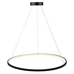 billiga Dekorativ belysning-Ecolight™ Cirkelrunda Hängande lampor Glödande Målad Finishes Metall Akryl LED 110-120V / 220-240V Varmt vit / Vit / Dimbar med fjärrkontroll LED-ljuskälla ingår / Integrerad LED