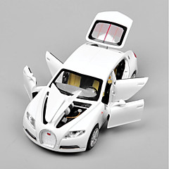 cheap Diecasts & Toy Vehicles-1:32 Bugatti Veyron with Battery Light Sound Pull Back Model Car Toy Car Toys Car Glow Metal Alloy Pieces