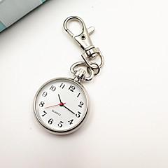 cheap Women's Watches-Women's Keychain Watch Pocket Scale Nurse Watch Quartz Silver Casual Watch Analog Ladies Vintage Fashion Minimalist - Silver One Year Battery Life / Tianqiu 377