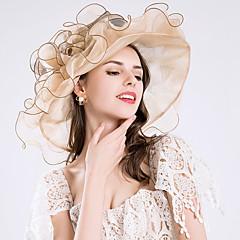 Hedvábí Doplňky do vlasů   Vlasové ozdoby s Květiny   Volány   Sklady 1ks  Svatební   Zvláštní příležitosti Přílba 05221eaaab