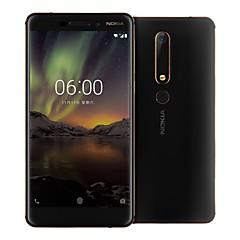 levne Mobily-NOKIA 6 5,5 palec 4G Smartphone (4GB + 64GB 16mp Snapdragon 630 3000mAh mAh)