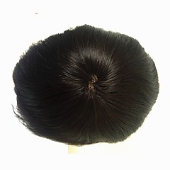 cheap Wigs & Hair Pieces-Men's Remy Human Hair Toupees 100% Hand Tied / Full Lace