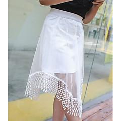 お買い得  女児 スカート-子供 女の子 ソリッド スカート