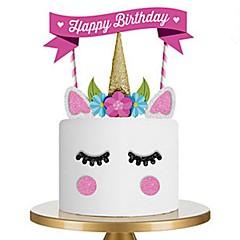 billige Bakeredskap-Bakeware verktøy tekstil Bursdag / GDS Kake Dessert dekoratører 1pc