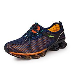 baratos Tênis de Corrida-Tênis de Corrida Sapatos Casuais Tênis Unisexo Anti-Escorregar Anti-Shake Almofadado Ventilação Impacto Secagem Rápida Prova-de-Água