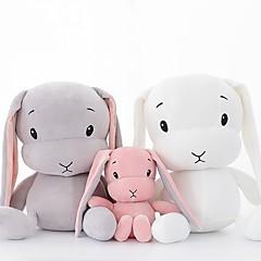 cheap Dolls, Playsets & Stuffed Animals-Rabbit Stuffed Animal Plush Toy Comfy Animals Lovely Gift 1pcs