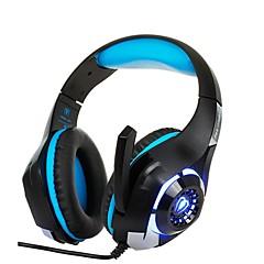 baratos -GM-1 Com Fio Fones de Cabeça Para PS4 ,  Fones de Cabeça ABS 1 pcs unidade
