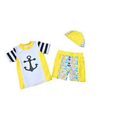 billige Badetøj til drenge-Baby Drenge Ensfarvet Stribet Blomstret Badetøj