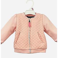Χαμηλού Κόστους Βρεφικά μπλουζάκια-Μωρό Κοριτσίστικα Μπλούζα Βαμβάκι Μονόχρωμο Καθημερινά Μακρυμάνικο Χαριτωμένο Καθημερινό Ανθισμένο Ροζ