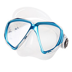 billiga Dykmasker, snorklar och simfötter-TUO Snorkelmask / Simglasögon Anti-dimma Två Fönster - Simmning, Dykning Silikon Gummi - för Vuxen Gul / Röd / Blå