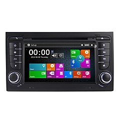 cheap Car DVD Players-7inch 2 DIN HD 1080P Windows CE 6.0 Car DVD Player  for Audi Built-in Bluetooth / GPS / RDS 617 DVD-R / RW / CD-R / RW / VCD