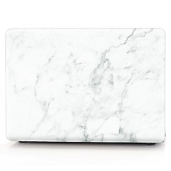 "tanie Torby na laptopa-Etui na MacBook Marmur Plastik na Nowy MacBook Pro 15"" / Nowy MacBook Pro 13"" / MacBook Pro 15 cali"