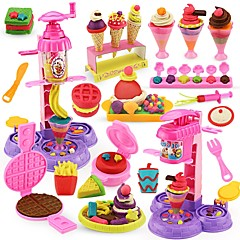 Χαμηλού Κόστους Παιχνίδια κουζίνα και τροφές-Παιχνίδι νεροχύτη κουζίνας Δημιουργικό Αλληλεπίδραση γονέα-παιδιού Πλαστικό Περίβλημα Παιδικά Δώρο