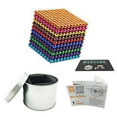 tanie Zabawki magnetyczne-1000 pcs Zabawki magnetyczne Kulki magnetyczne Zabawki magnetyczne Klocki Magnetyczne Przeciwe stresowi i niepokojom Zabawki biurkowe Ukojenie przy ADD, ADHD, niepokojach, autizmie Nowość Dla