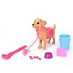 billiga Jobb- och rollspelsleksaker-Jobb- och rollspelsleksaker Djur Hundar Föräldra-Barninteraktion Plastskal Barn Present 13pcs