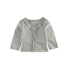 billige Sweaters og cardigans til babyer-Baby Unisex Basale / Gade Trykt mønster Langærmet Trøje og cardigan