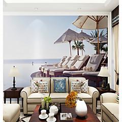 billige Tapet-bakgrunns / Veggmaleri Lerret Tapetsering - selvklebende nødvendig Trykt mønster / Art Deco / Mønster