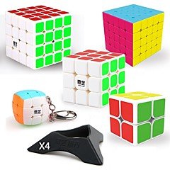 olcso -9 db Magic Cube IQ Cube QIYI QIYI-A Piramix Alien Mini 2*2*2 3*3*3 4*4*4 Sima Speed ​​Cube Rubik-kocka Puzzle Cube Sima matrica szakmai szint Gaming Tini Felnőttek Játékok Összes Fiú Lány Ajándék