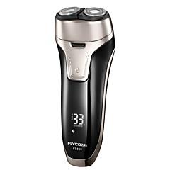 billige Barbering og hårfjerning-FLYCO Elektriske barbermaskiner til Herrer 100-240 V Strømlys Indikator / Rask lading / Vaskbar / Ladestatus