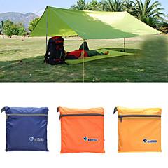 billige Telt og ly-Lytelt / Familie Camping Telt Enkelt Stang camping Tent Utendørs til Strand / Camping / Vandring / Grotte Udforskning / Picnic 1000-1500 mm Oxfordtøy, Oxford 250*100 cm