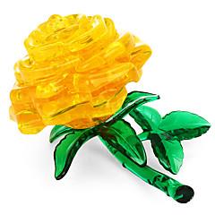 tanie Gry i puzzle-Zabawki 3D / Kryształowe puzzle Kwiatowy Motyw Zabawki biurkowe Akryl / Poliester 44 pcs Doroślu / Pośrednie Wszystko Prezent