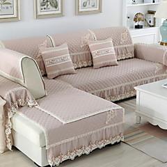 billige Overtrekk-Sofa Pute Ensfarget Reaktivt Trykk Bomull / Polyester slipcovere