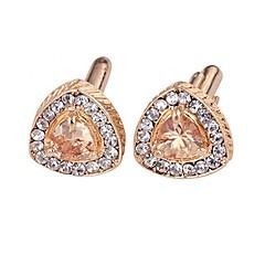 ieftine Butoni pentru bărbați-Geometric Shape Argintiu / Auriu Μανικετόκουμπα Diamante Artificiale / Aliaj Haine Bărbați Costum de bijuterii Pentru Zilnic / Oficial