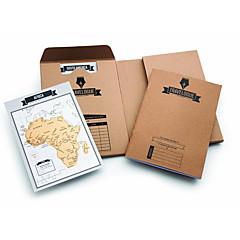 billige Originale moroleker-Praktiske spøker Kart Skole / Nytt Design Rent papir 1 pcs Voksen Alle Gave
