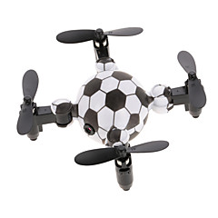 billige Fjernstyrte quadcoptere og multirotorer-RC Drone DH-200 RTF 4 Kanaler 6 Akse 2.4G Med HD-kamera 0.3MP Fjernstyrt quadkopter En Tast For Retur / Hodeløs Modus / Flyvning Med 360