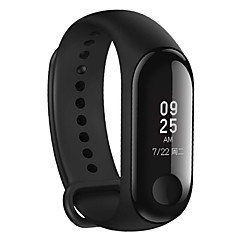 economico Tecnologia intelligente-cardiofrequenzimetro originale xiaomi mi banda 3 fitness tracker da 0,78 '' oled display touchpad bluetooth 4.2 android ios