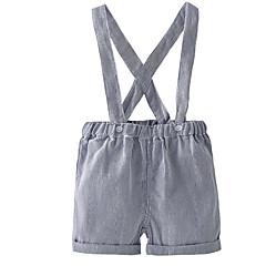billige Babyunderdele-Baby Pige Basale Stribet Overall og jumpsuit