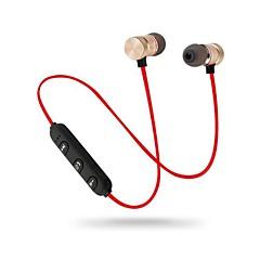 billiga Headsets och hörlurar-EARBUD Trådlös Hörlurar Hörlurar Metallskal Mobiltelefon Hörlur mikrofon / Med volymkontroll headset