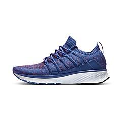 baratos Tênis de Corrida-Xiaomi Homens Tênis Borracha Exercício e Atividade Física / Caminhada / Corrida Leve, Anti-Shake, Almofadado Tricô Preto / Azul / Cinzento