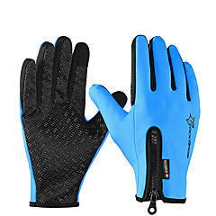tanie Rękawiczki motocyklowe-ROCKBROS Pełny palec Dla obu płci Rękawice motocyklowe Poliester Ekran dotykowy / Wodoodporny / Utrzymuj ciepło