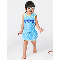 billige Badetøj til piger-Baby Pige Prikker Badetøj