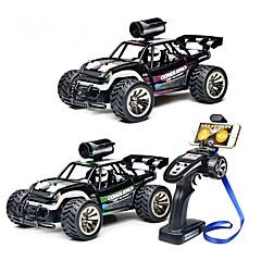 baratos Carros Controle Remoto-Carro com CR BG1516 With 480P Camera 4CH 2.4G Carro de Corrida / Drift Car 1:16 Electrico Não Escovado KM / H