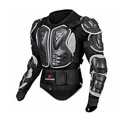 halpa Ajovarusteet-WOSAWE Moottoripyörän suojavaatetus varten Takki Unisex Net Fabric / EVA Iskunkestävä / Suoja / Helppo pukeutuminen